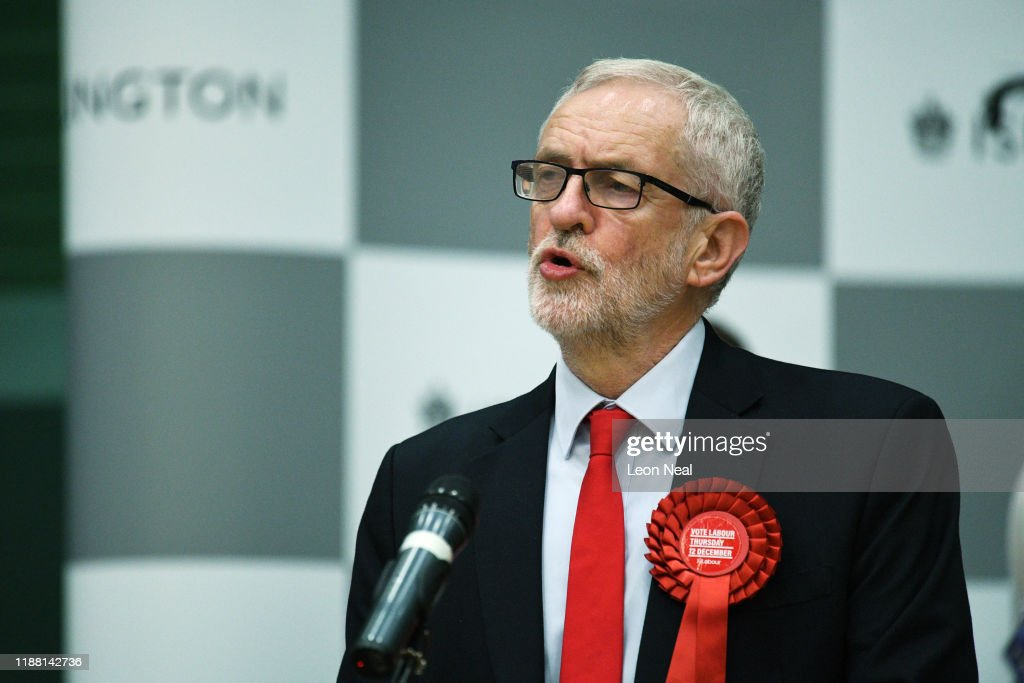 Jeremy Corbyn Attends Islington North Count And Declaration : News Photo