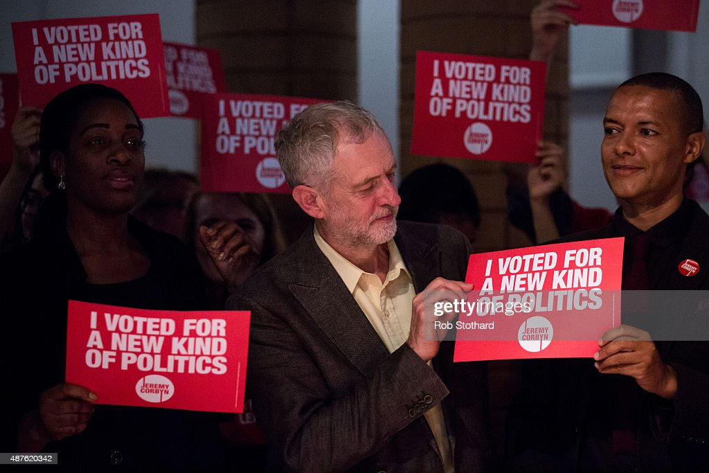 Jeremy Corbyn Holds Final Rally Of The Labour Leadership Campaign : News Photo