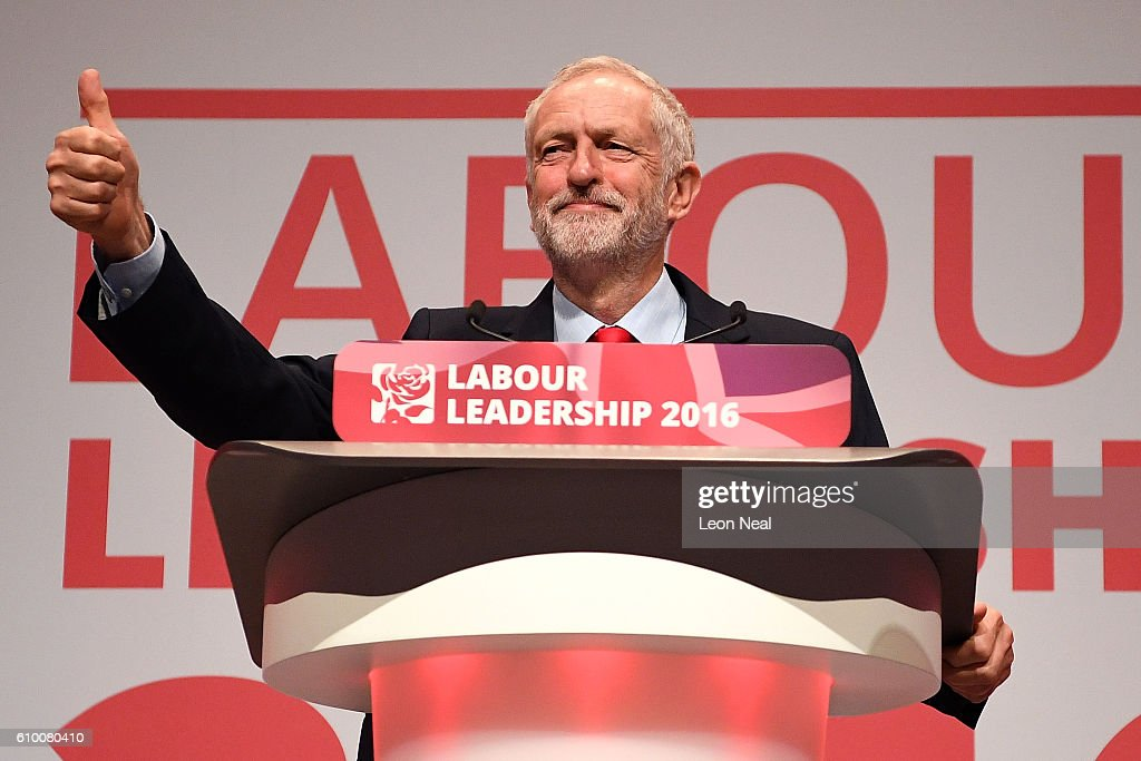 Jeremy Corbyn Is Announced As Labour Leader : News Photo