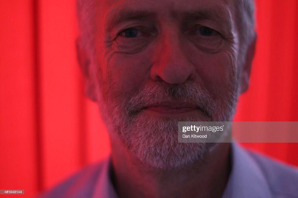 Jeremy Corbyn poses for a portrait on July 16, 2015 in London, England. Jeremy Bernard Corbyn is a British Labour Party politician and has been a member of Parliament for Islington North since 1983. He is currently a contender for the position as leader of the Labour Party.