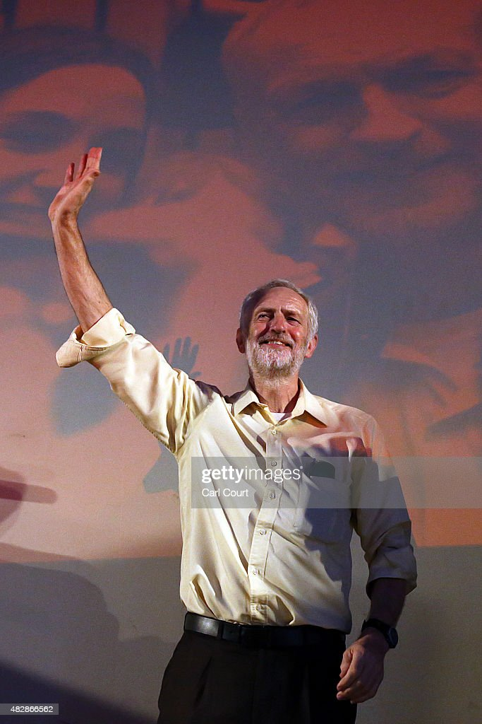 Jeremy Corbyn And Ken Livingstone Attend A Labour Leadership Rally