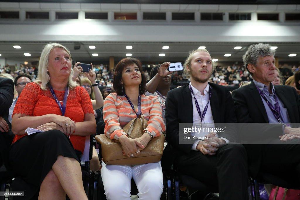 Jeremy Corbyn Attends The 2017 Unison Conference