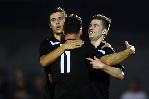 finest selection d7d2e 34442 Men's NSW NPL Rd 9 - Sydney FC v Sutherland Sharks FC Photos ...