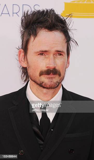 Jeremy Davies arrives at the 64th Primetime Emmy Awards at Nokia Theatre LA Live on September 23 2012 in Los Angeles California