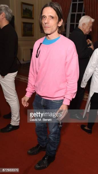 Jeremy Deller attends the Artangel Artists' Dinner at Gray's Inn Banqueting on November 11 2017 in London England