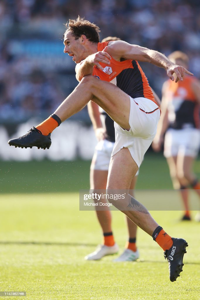 AFL Rd 4 - Geelong v GWS : News Photo
