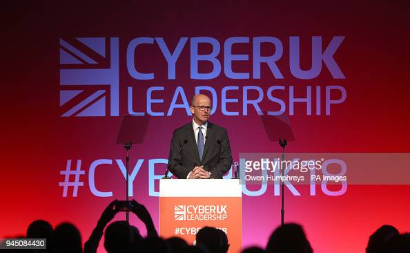 Jeremy Fleming, the director general of GCHQ addresses the