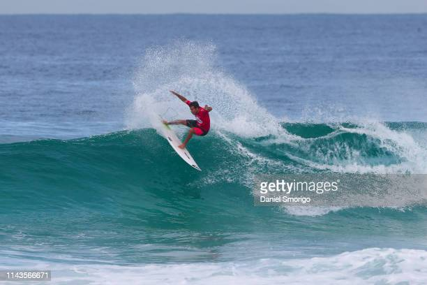 Jeremy Flores of France competing in the 2016 Oi Rio Pro in Rio de Janeiro, Brazil.