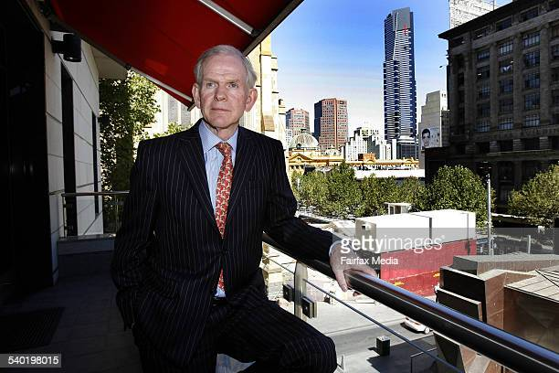 Jeremy Grantham, GMO?s Chairman of the Board and oversees quantitative products and investment strategies, 19 March 2007. AFR Picture by JAMES DAVIES