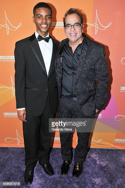 Jeremy Green and Richard JayAlexander attend the opening night of Dr Phillips Center for the Performing Arts Broadway Beyond on November 15 2014 in...