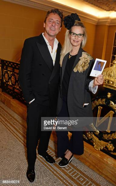 Jeremy Healy and Emma Woollard attend '8 Years Of My Life', an intimate evening of music with Rosey Chan hosted by Rosey Chan and Client Earth, at...
