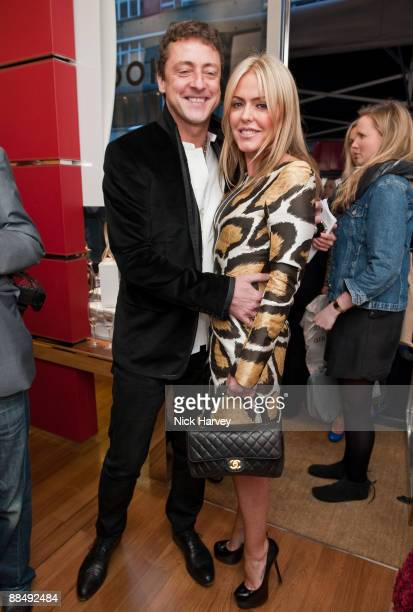 Jeremy Healy and Patsy Kensit attend the charity event 'Hogan Best Buddies' at Hogan Store on May 13 2009 in London England