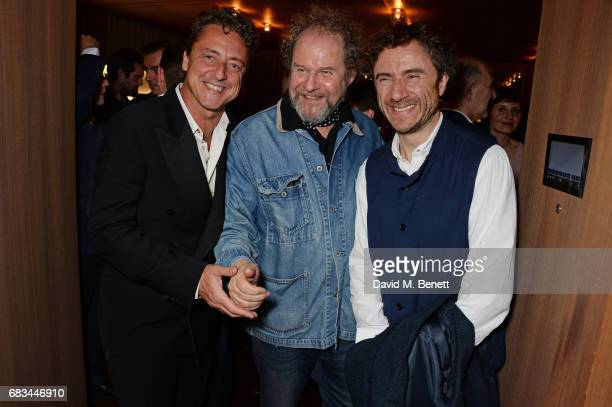 Jeremy Healy, Mike Figgis and Thomas Heatherwick attend '8 Years Of My Life', an intimate evening of music with Rosey Chan hosted by Rosey Chan and...