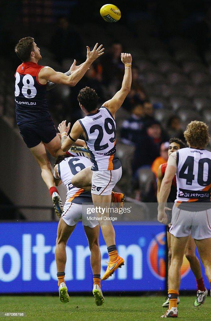 AFL Rd 23 - Melbourne v GWS