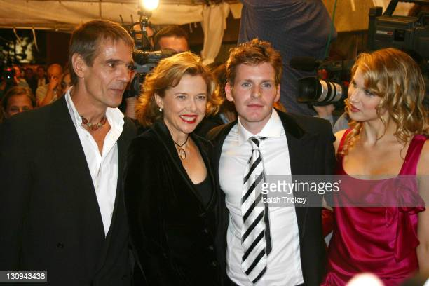 Jeremy Irons Annette Bening Shaun Evans and Lucy Punch