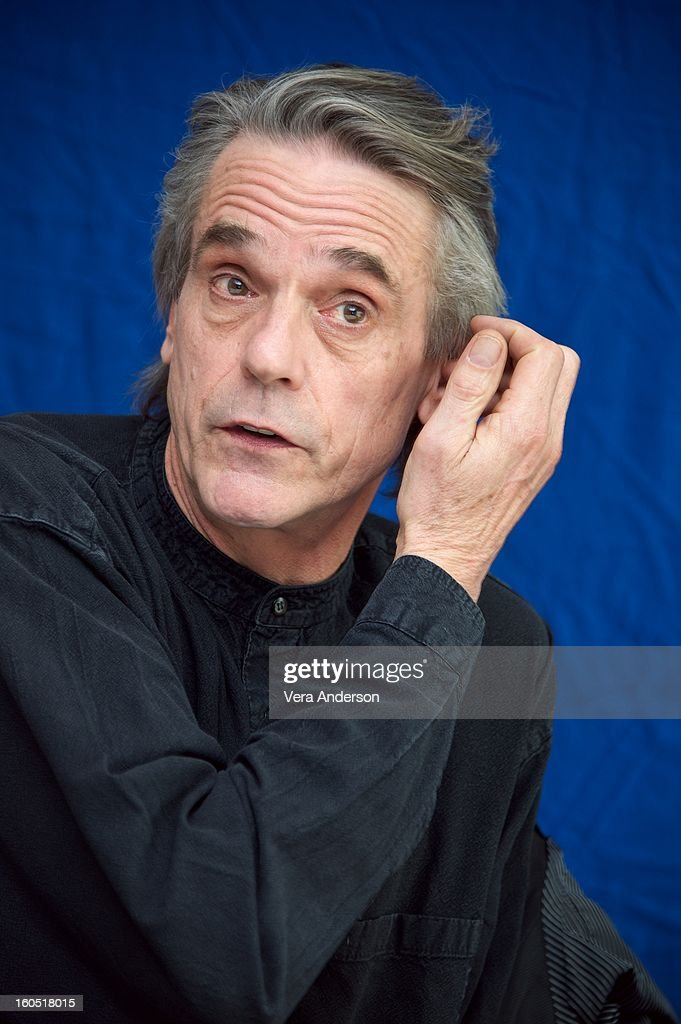 Jeremy Irons at the 'Beautiful Creatures' Press Conference at the SLS Hotel on February 1, 2013 in Beverly Hills, California.