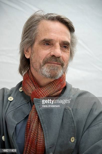 Jeremy Irons at The Borgias Press Conference at the Corinthia Hotel on May 4 2013 in London England