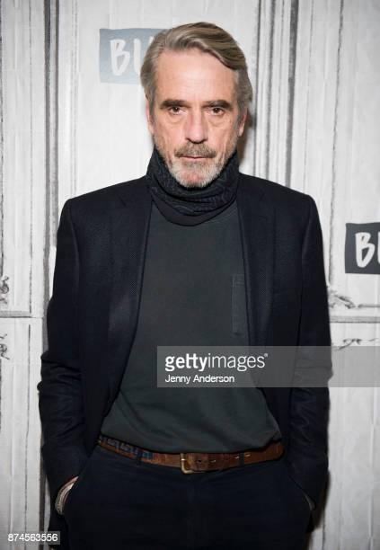 Jeremy Irons attends AOL BUild at Build Studio on November 15 2017 in New York City