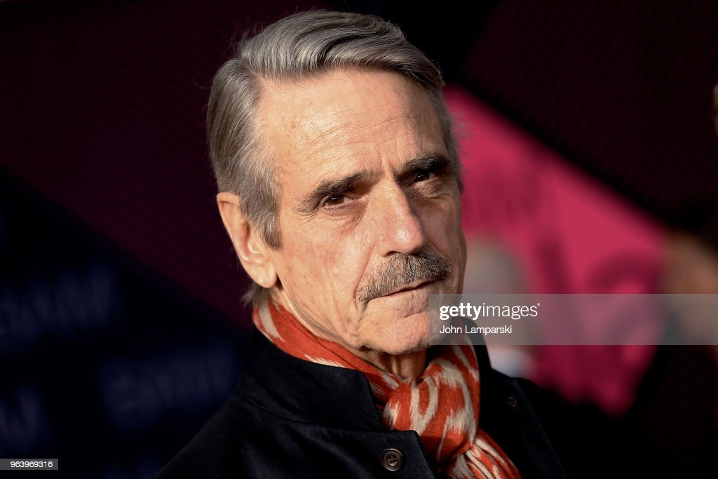 Jeremy Irons attends BAM Gala 2018 at Brooklyn Cruise Terminal on May 30, 2018 in New York City.