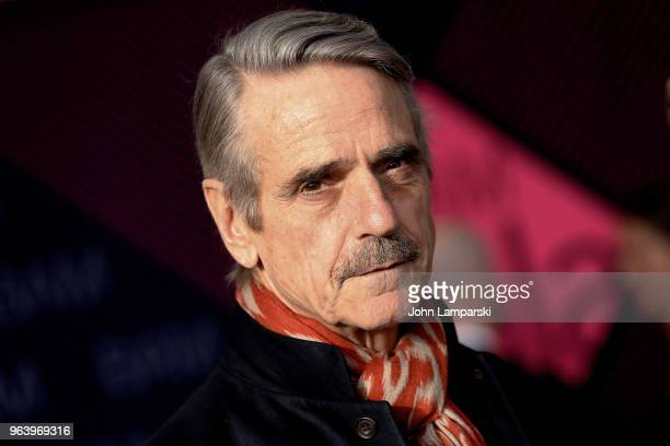 Jeremy Irons attends BAM Gala 2018 at Brooklyn Cruise Terminal on May 30 2018 in New York City