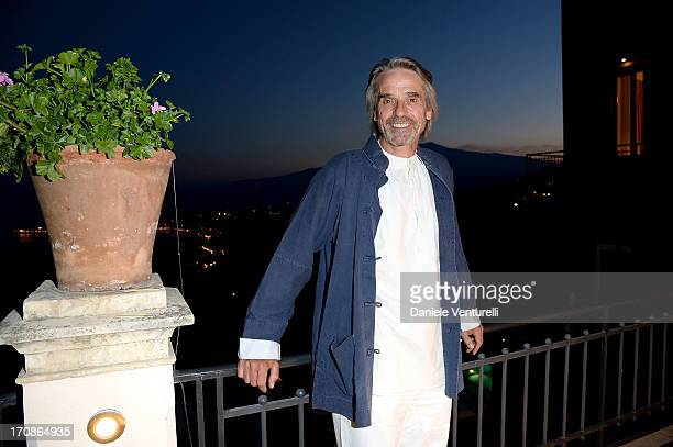 Jeremy Irons attends Taormina Filmfest 2013 on June 19 2013 in Taormina Italy