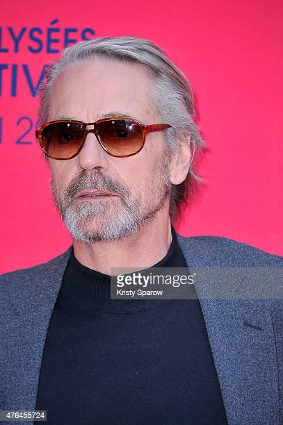 Jeremy Irons attends the 4th Champs Elysees Film Festival Opening Ceremony and Valley of Love Premiere at Publicis Champs Elysees on June 9 2015 in...