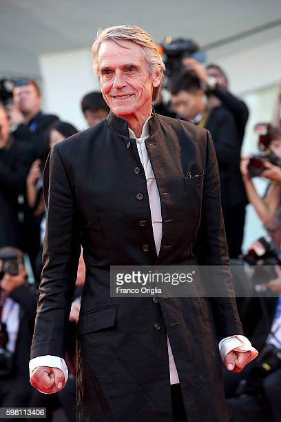 Jeremy Irons attends the opening ceremony and premiere of 'La La Land' during the 73rd Venice Film Festival at Sala Grande on August 31 2016 in...
