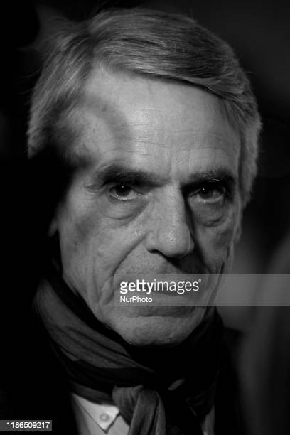 Jeremy Irons attends the ''Pintores Y Reyes Del Prado'' premiere at Verdi Cinema in Madrid Spain on Dec 4 2019