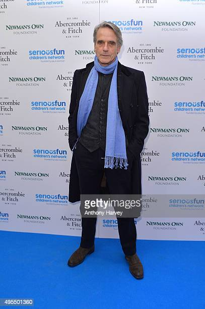 Jeremy Irons attends the SeriousFun Children's Network London Gala at The Roundhouse on November 3 2015 in London England
