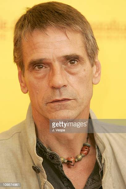Jeremy Irons during 2004 Venice Film Festival 'The Merchant Of Venice' Photo Call at Casino in Venice Lido Italy