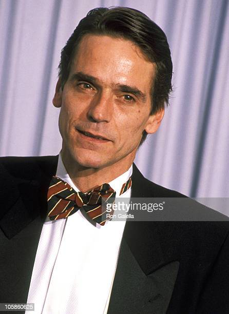 Jeremy Irons during 63rd Annual Academy Awards at Shrine Auditorium in Los Angeles California United States