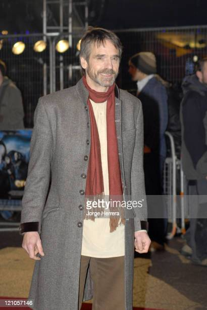 Jeremy Irons during 'Eragon' London Premiere Arrivals at Odeon Leicester Square in London Great Britain