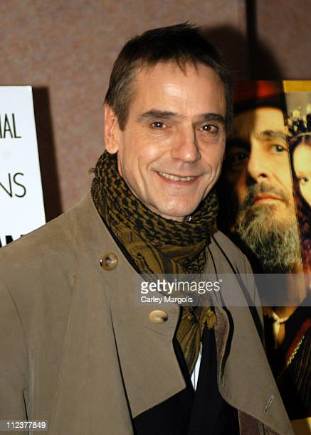 Jeremy Irons during Gotham Magazine Al Pacino and Sony Pictures Host the Premiere Party for 'The Merchant of Venice' Premiere Arrivals at U/A Theater...