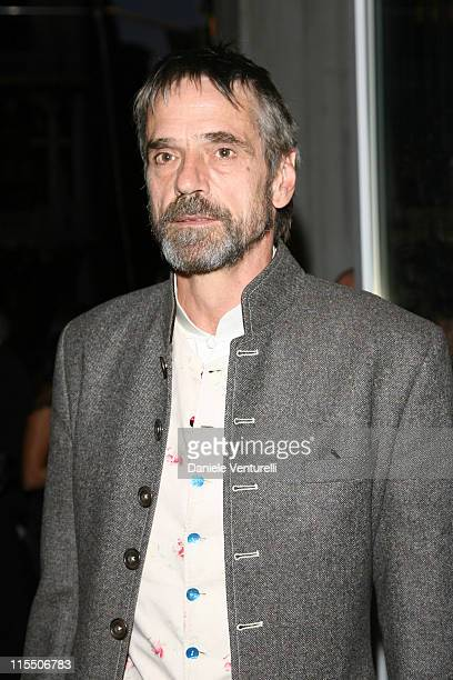 Jeremy Irons during The 63rd International Venice Film Festival Gucci Group Award at Palazzo Grassi in Venezia Italy