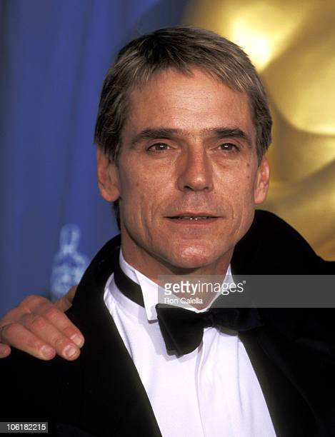 Jeremy Irons during The 67th Annual Academy Awards Press Room at Shrine Auditorium in Los Angeles California United States