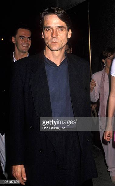 Jeremy Irons during World Premiere of 'The Lion King' In New York at Radio City Music Hall in New York New York United Kingdom