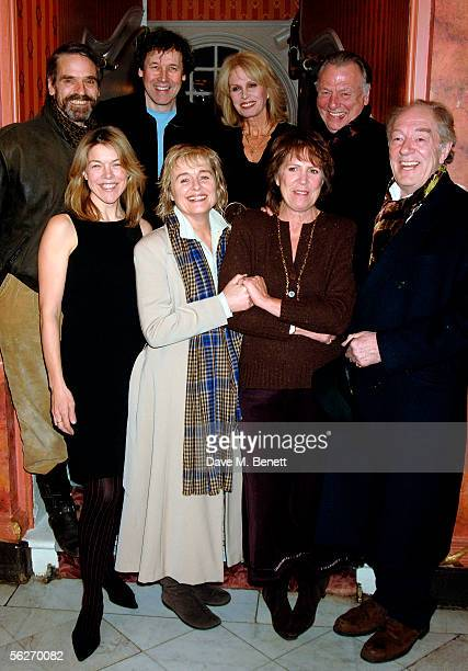 Jeremy Irons Stephen Rea Joanna Lumley Kenneth Cranham Janie Dee Sinead Cusack Penelope Wilton and Michael Gambon pose for a picture at the launch of...