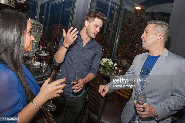 Jeremy Irvine and Michael Tammero attend The Evening Before a preWhite House Correspondents' Dinner party hosted by Eric Podwall and Spotify at...