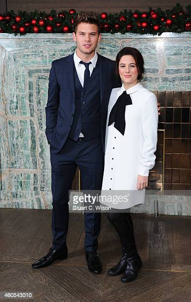 Jeremy Irvine and Phoebe Fox attend as the London Critics Circle Film Awards are announced at May Fair Hotel on December 16 2014 in London England