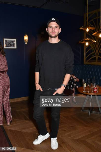 Jeremy Irvine attends the All Star Lanes Westfield London launch party on April 26 2018 in London England