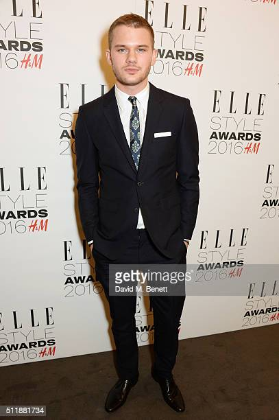 Jeremy Irvine attends The Elle Style Awards 2016 on February 23 2016 in London England