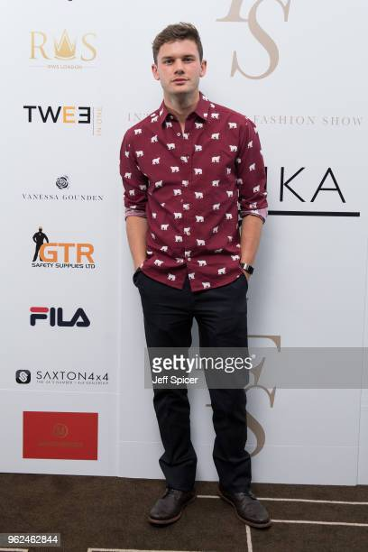Jeremy Irvine attends the inaugural International Fashion Show at Rosewood Hotel on May 25 2018 in London England
