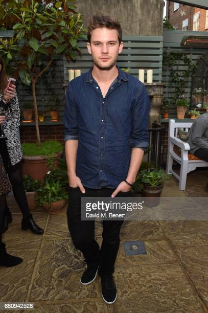 Jeremy Irvine attends The Ivy Chelsea Garden's 2nd anniversary party on May 9 2017 in London England