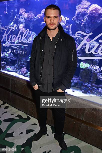 Jeremy Irvine attends the Kiehl's VIP dinner hosted by Pixie Geldof and Jack Guinness at Sexy Fish on February 15 2016 in London England