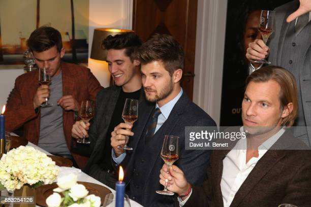 Jeremy Irvine Isaac Carew Jim Chapman and Ludovic du Plessis attend as LOUIS XIII and Dylan Jones GQ Editor in Chief cohost Intimate Dinner...