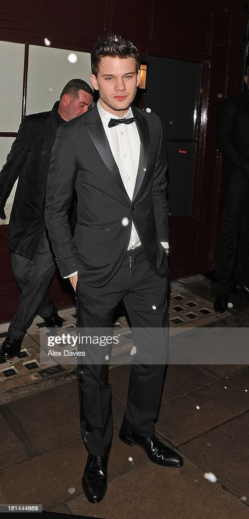 Jeremy Irvine on February 10, 2013 in London, England.