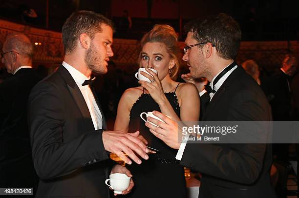 Jeremy Irvine Vanessa Kirby and Robert Icke attend The London Evening Standard Theatre Awards after party in partnership with The Ivy at The Old Vic...