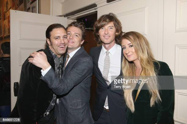 Jeremy Ivey Kenneth Pattengale Joey Ryan and Margo Price attend the 2017 Americana Music Association Honors Awards on September 13 2017 in Nashville...