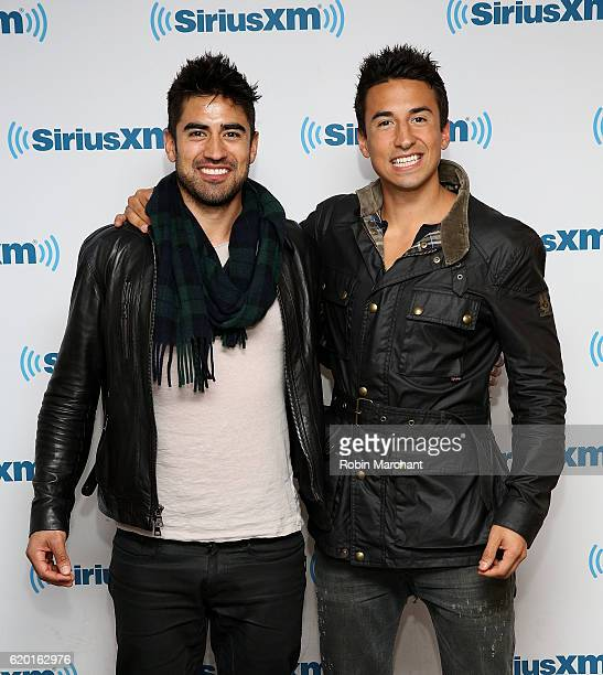 Jeremy Jauncey and Tom Jauncey visit at SiriusXM Studio on November 1 2016 in New York City