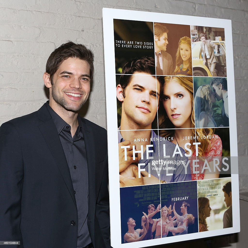 jeremy jordan attends the last five years premiere screening at the picture id463104844